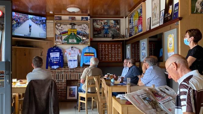 Spanning in Schepdaals supporterscafé van Remco Evenepoel valt te snijden