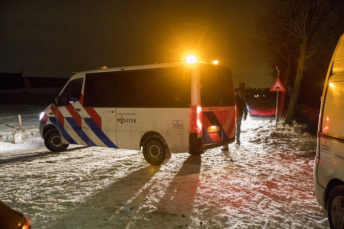 Politie controleert uitgaand verkeer op camping in Schijf na steekincident