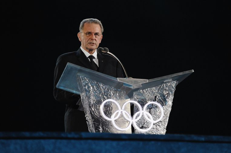 Oud-IOC-voorzitter Jacques Rogge.  Beeld AFP
