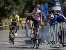 Pogacar wint Sloveense strijd van Roglic in Baskenland
