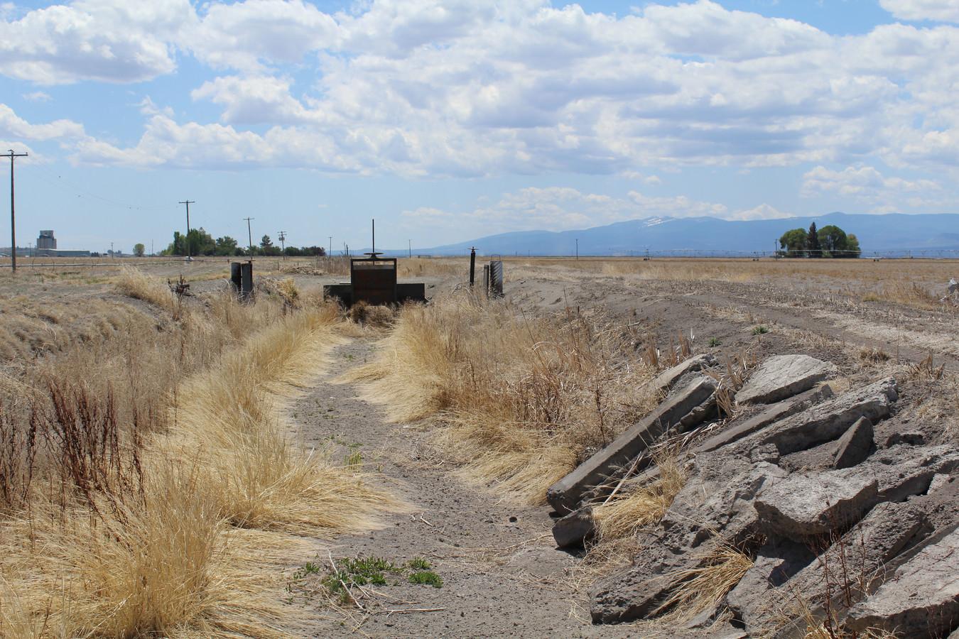 Het landbouwgebied rond Tulelake verdroogt langzaam.