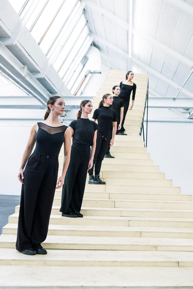 Scala uit Feminale van choreografe Krisztina de Châtel Beeld Joris-Jan Bos