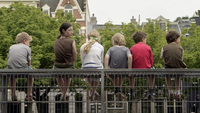 De stadssafari vindt plaats op en rond het Amstelveld. Beeld Jan van Breda