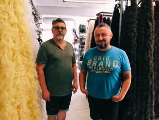 """Carnavalsiconen Sandy en George stoppen met atelier: """"Ergens in 2021 zal je een stukje Aalst terug kunnen vinden aan de Côte d'Azur"""""""