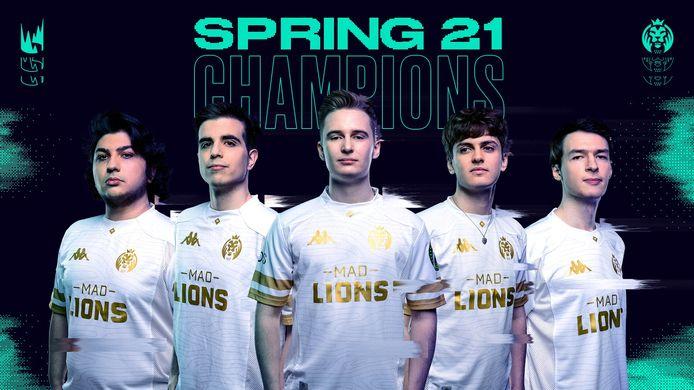 Het League of Legends-team MAD Lions heeft gisteravond de finale van de grootste Europese League of Legends-competitie gewonnen. Het team versloeg tegenstander Rogue met 3-2.