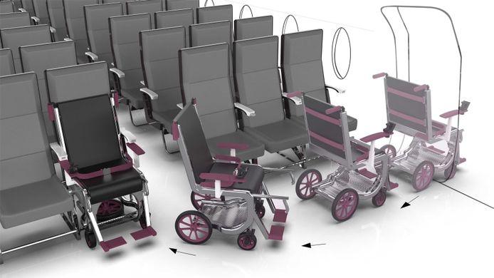 Le design adapté aux fauteuils roulants réalisé par la designer Ciara Crawford.