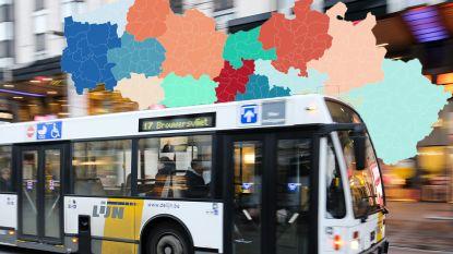 De Lijn wordt opgesplitst: in deze 'vervoerregio' valt jouw gemeente