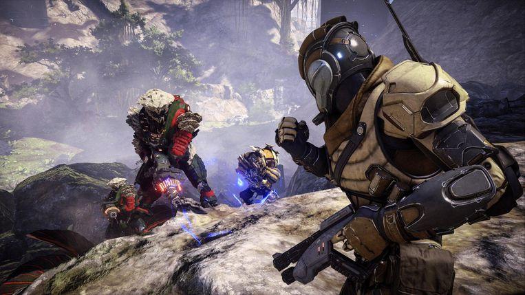 Van hieraf gaat het bergafwaarts met Mass Effect no.4. Beeld BioWare