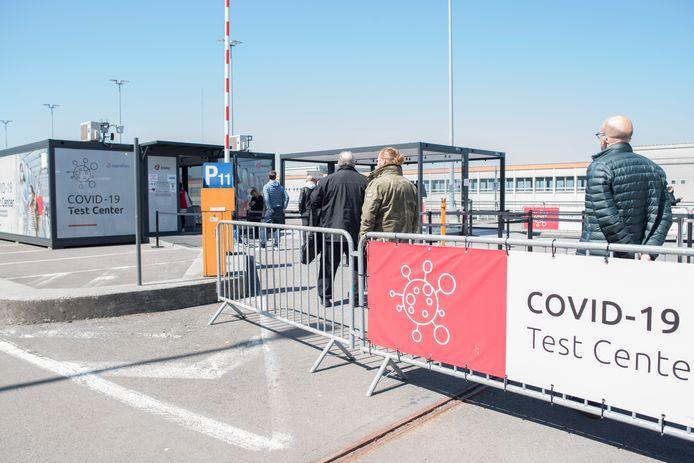 Centre de test de l'aéroport de Zaventem