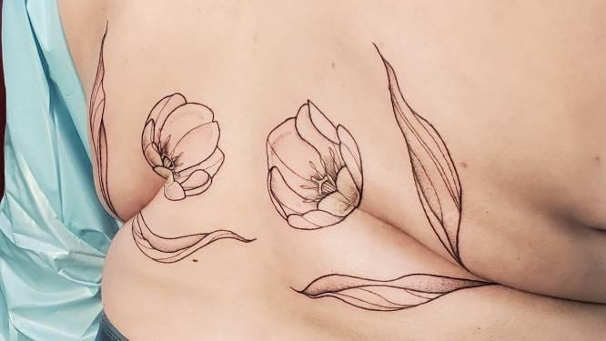 Zet je huidrollen in de bloemetjes met een 'roll flower'-tattoo