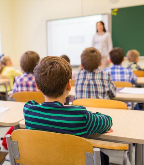 Jonge Vlamingen voor de klas