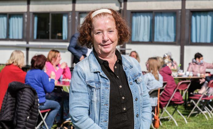De Capucienenschool na 30 jaar afscheid van Marijke De Backere, ook gekend als Marijke van 't secretariaat.