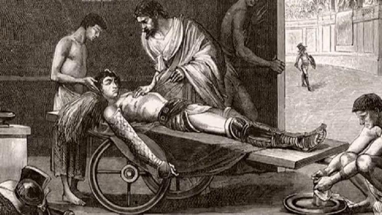 Vesalius was één van de grondleggers van de anatomie. Beeld Youtube