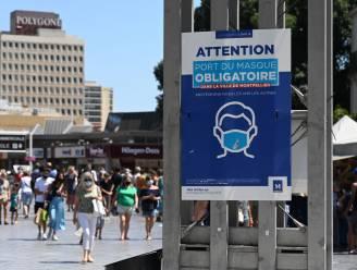 Verscheidene regio's in Frankrijk verplichten opnieuw dragen van mondmasker in buitenlucht