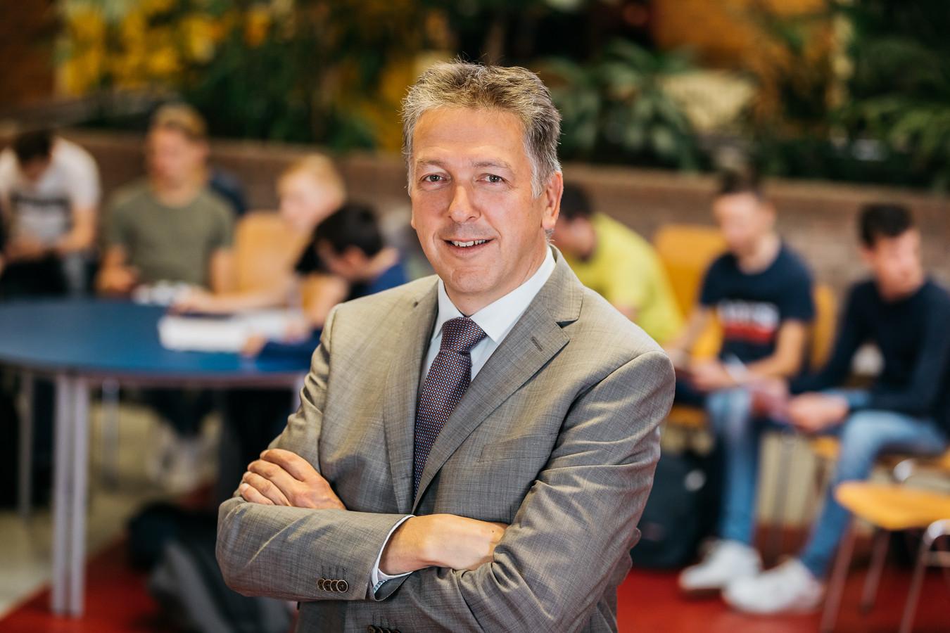 Jan Bakker, voorzitter College van Bestuur Calvijn College.