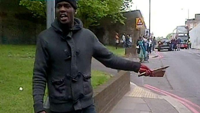 Michael Abebolajo na zijn aanval.