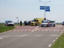Snorfietser gewond bij aanrijding Brouwershaven