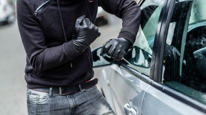 Dieven gevat na auto-inbraak in Spoorweglaan