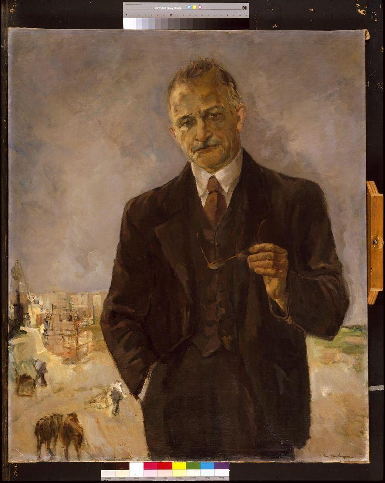 Portret door Elie Neuburger van Salomon ('Monne') de Miranda Beeld Amsterdam Museum