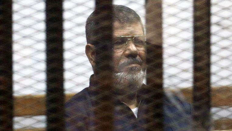 De afgezette Egyptische president Mohammed Morsi. Beeld REUTERS