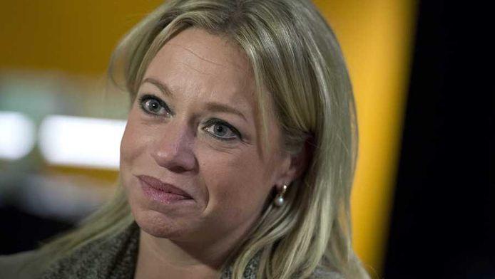 Minister Jeanine Hennis-Plasschaert van Defensie