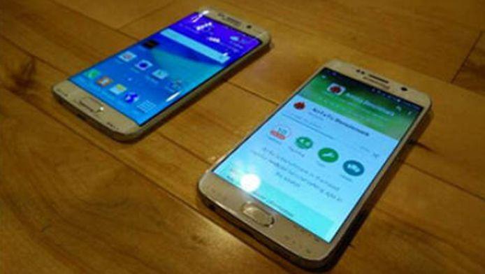 Dit zijn gelekte beelden van de nieuwe Samsung Edge en Galaxy S6.