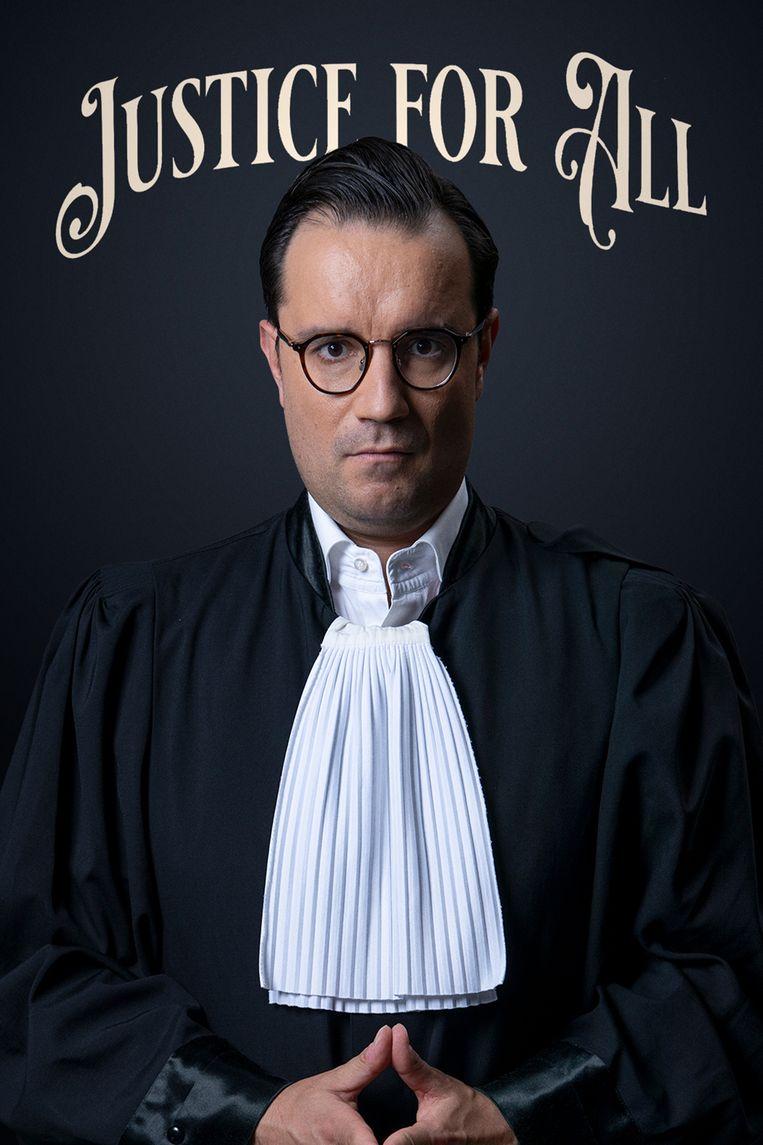 'Justice for All' waarin ingezoomd wordt op zeven topadvocaten.  Beeld SBS Belgium