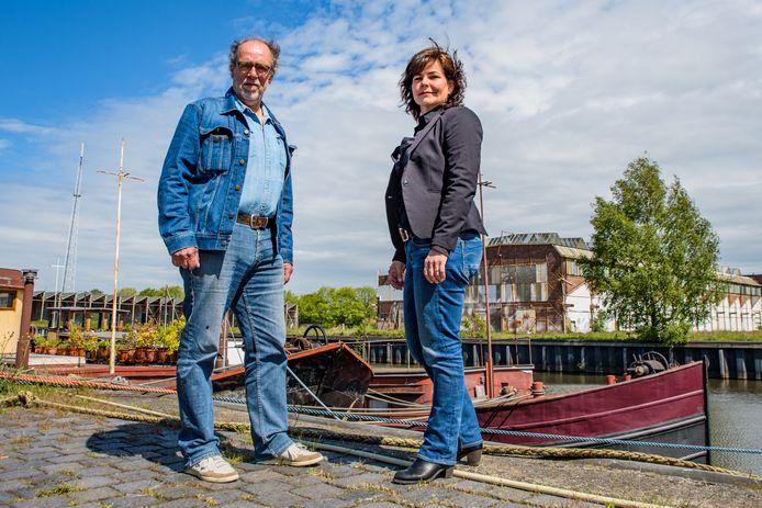 Henk Schol en Christel Smeets van het Stadslab Breda.