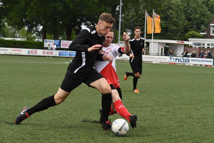 Jeroen Schepens, twee jaar geleden, als speler van Vianen Vooruit.