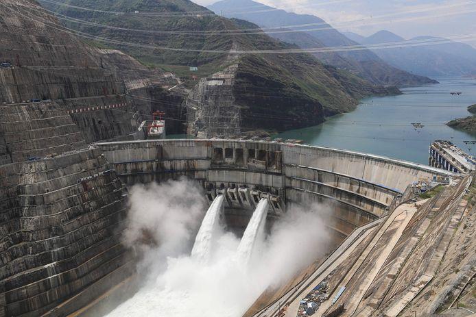 De waterkrachtcentrale.