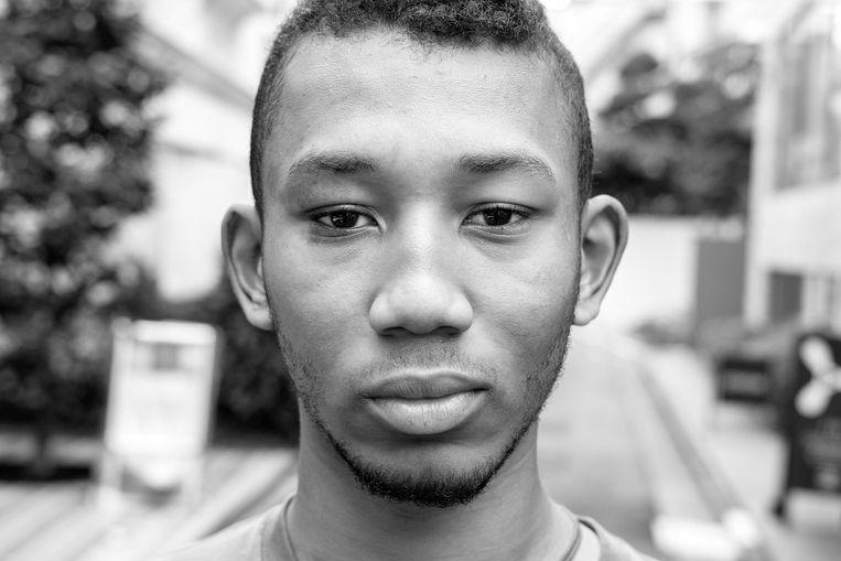 Hafu Simone, Kameroen-Japan Beeld Tetsuro Miyazaki