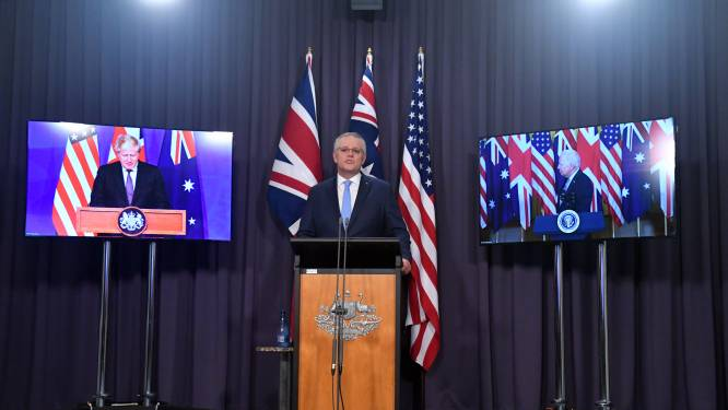 Nasleep duikbootrel: 'Fransen zeggen ontmoeting met Britse defensieminister af'