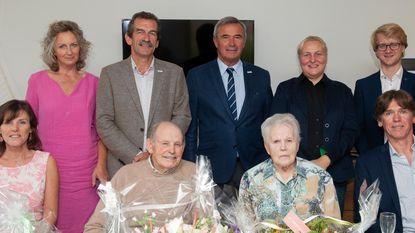 Robert en Paula vieren zestigste huwelijksverjaardag