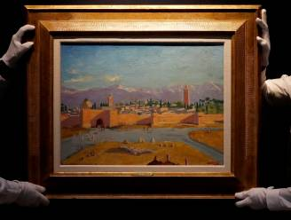Schilderij van Churchill geveild voor bijna 10 miljoen euro
