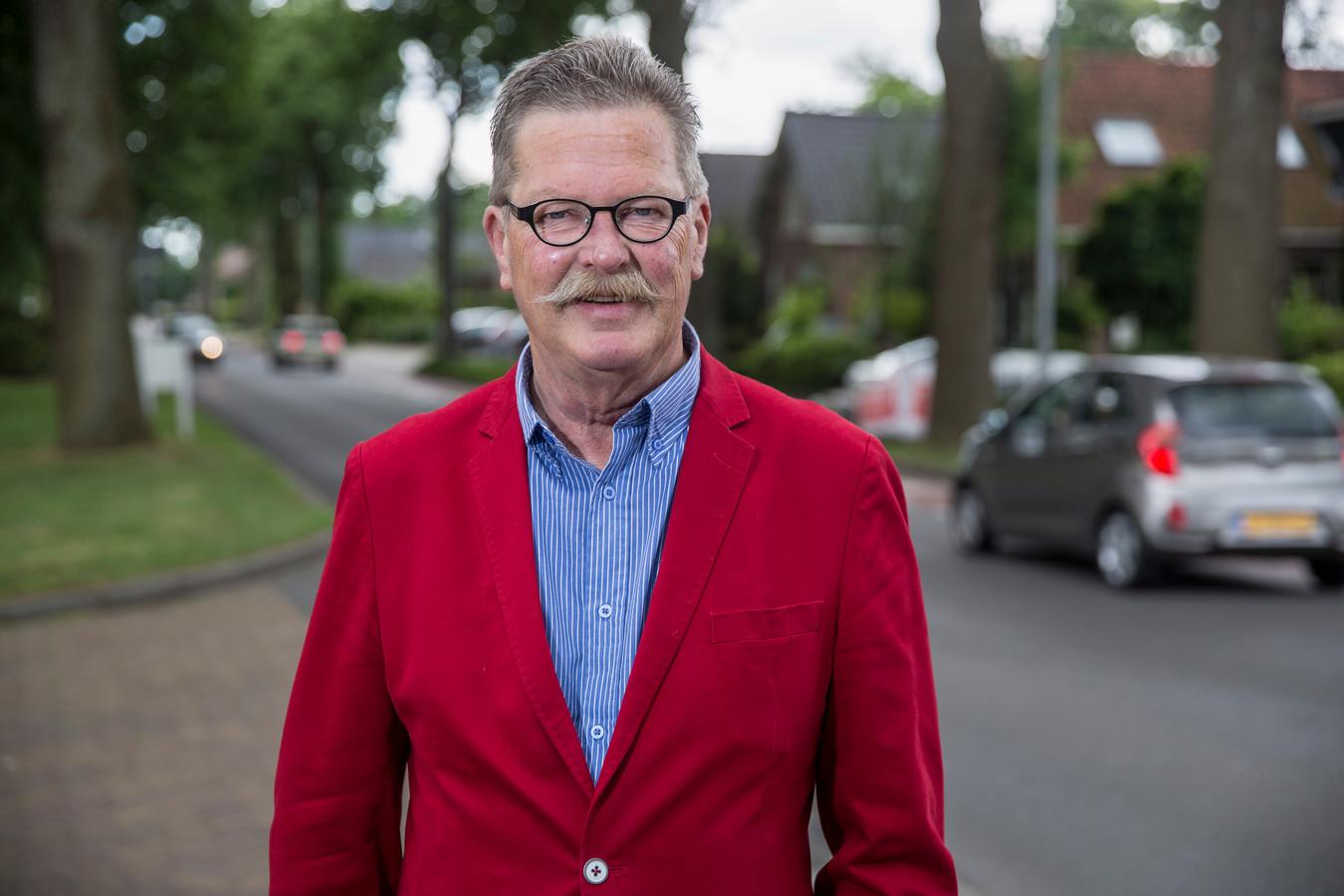 Wethouder Hans van der Sleen.