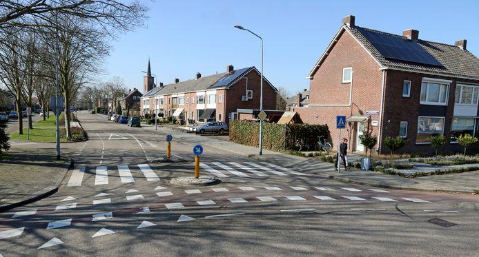 De Karel van Egmondstraat in Venlo, waar Geert Wilders opgroeide.