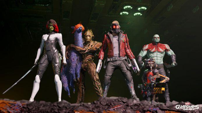 'Guardians of the Galaxy': Marvel met een toets 'Mass Effect'.
