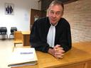 Advocaat Alain Coulier uit Nieuwpoort.