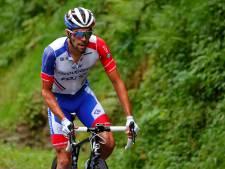 Pinot laat Giro schieten wegens rugpijn: 'Dit is hartverscheurend'