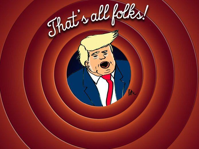 Donald Trump passeert ook de revue.