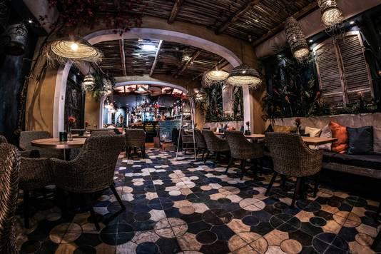 Macamba, het nieuwe restaurant bij Gringo's, ontworpen door Van Londen.