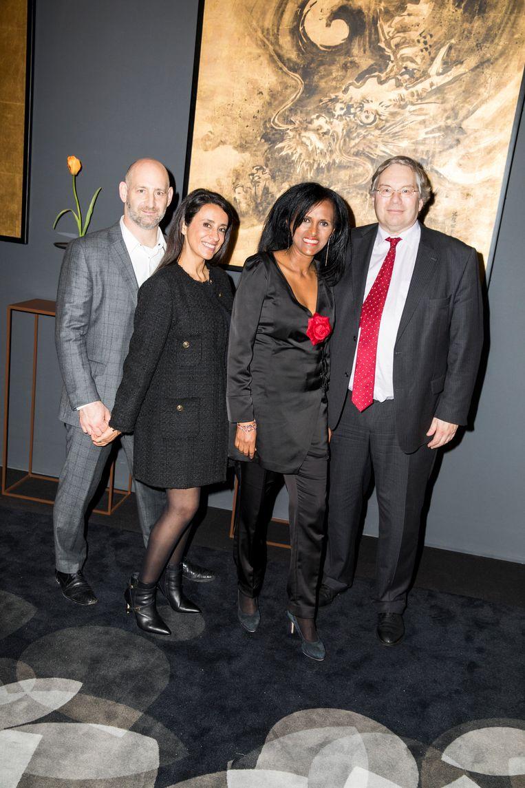 Merav Wolf (vrouw links), Saron Abraha (vrouw rechts) Beeld Marie Wanders