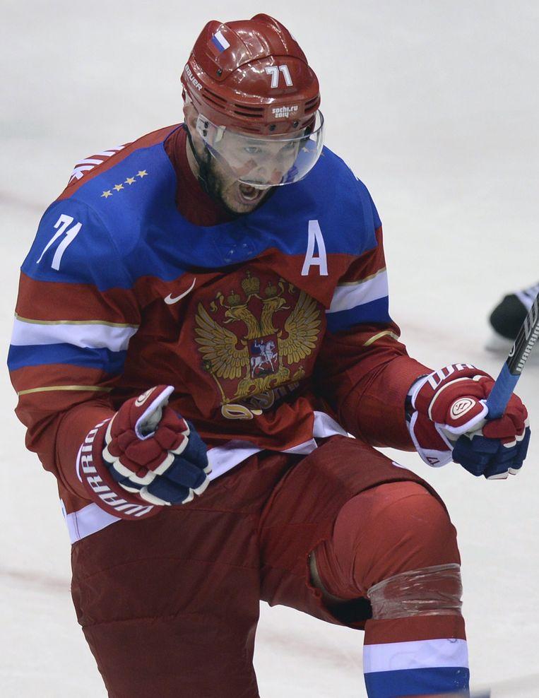 Ilya Kovalchuk. Beeld BELGAIMAGE