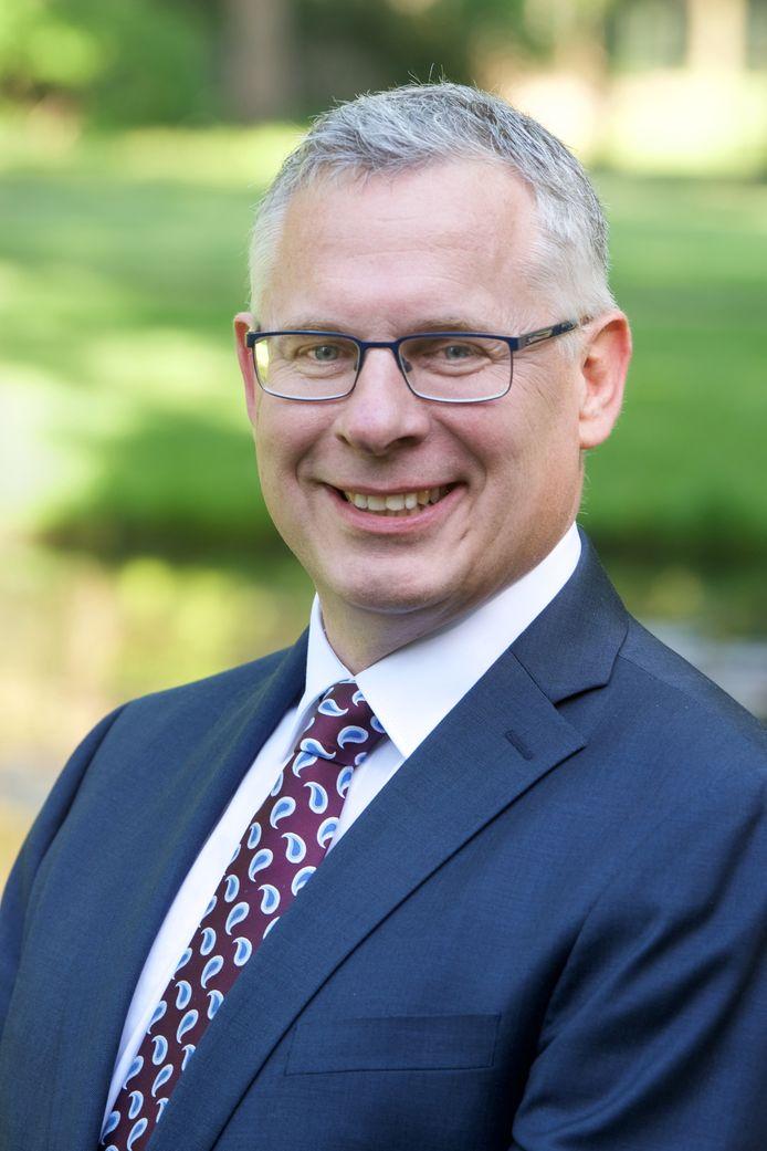 De Rhedense wethouder Marc Budel (CDA).