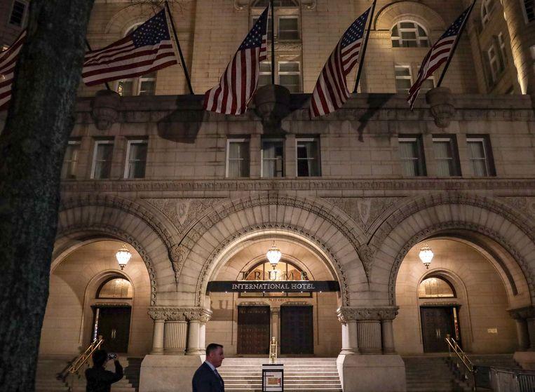 Het Trump hotel in Washington, DC. Beeld AFP
