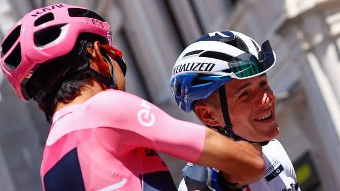 Bernal blij met concurrent Evenepoel: 'Een verrijking voor het wielrennen'