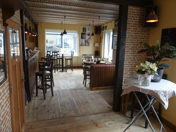 Café Eendracht in Machelen-aan-de-Leie.