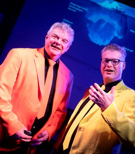 Niek de Groot uit Helmond en Jan-Maarten van Rooij uit Deurne maken theaterstuk voor bedrijven: Kleur bekennen op de werkvloer