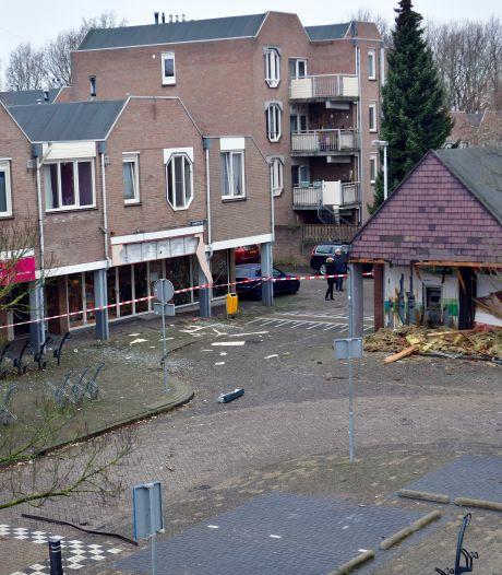 Plofkrakers hielden genadeloos huis op Biarritzplein in Eindhoven