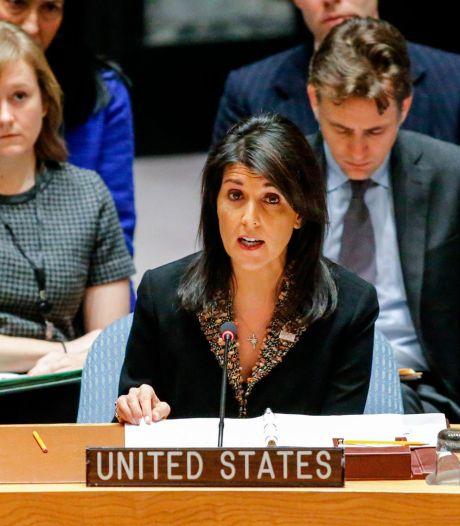 """Un veto """"inacceptable"""", selon l'Autorité palestinienne"""